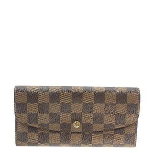 Louis Vuitton N63019 Emilie Snap Wallet 183409